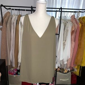 Express sleeveless blouse XL